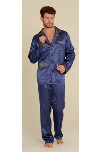 Pajamas men's satin, 939, De Lafense