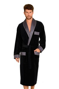 Bathrobe bonjour 773 long 3xl-4xl, De Lafense
