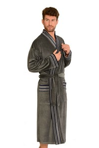 Plisa bathrobe male long, 861, De Lafense