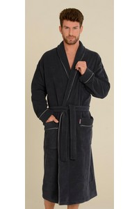 Bathrobe male with collar, 274, De Lafense