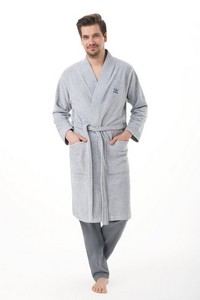 Bathrobe luna 850 m-2xl męski lingerie męska / szlafroki - all
