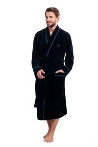 Bathrobe luna 852 3xl męska lingerie męska / szlafroki - all