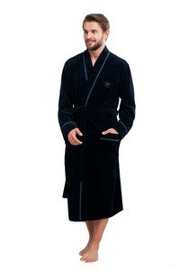 Bathrobe luna 852 m-2xl męski lingerie męska / szlafroki - all