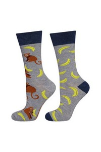 Socks men's good stuff mismatched - banan, Soxo